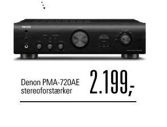 Denon stereoforstærker