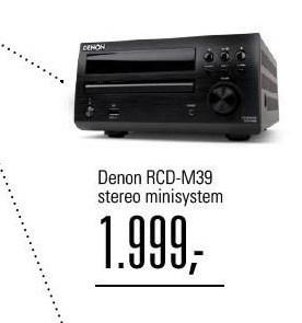 Denon stereo minisystem