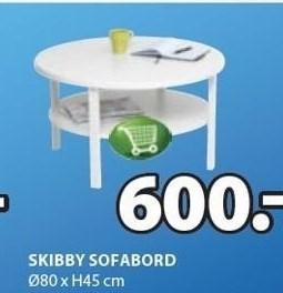 Skibby sofabord