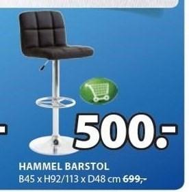 Hammel barstol