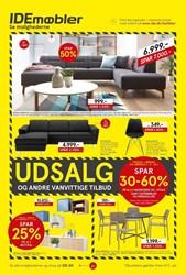IDEmøbler: Gyldig t.o.m lør 4/7