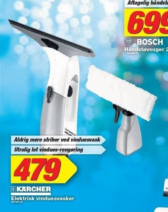 Kärcher elektrisk vinduesvasker