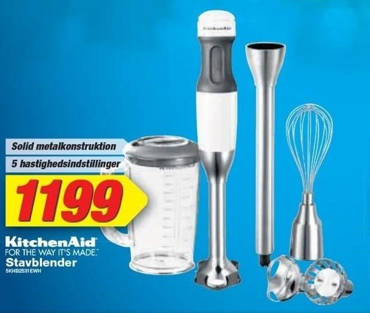 KitchenAid Stavblender