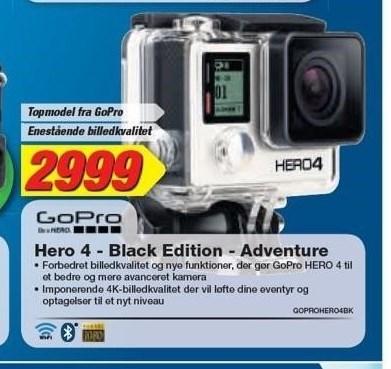 GoPro Hero 4 - Black Edition - Adventure