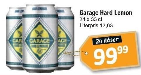 24 ds. Garage Hard Lemon