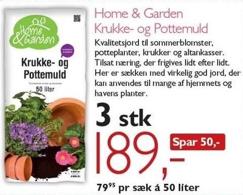 Home & Garden Krukke- og Pottemuld 3 stk.