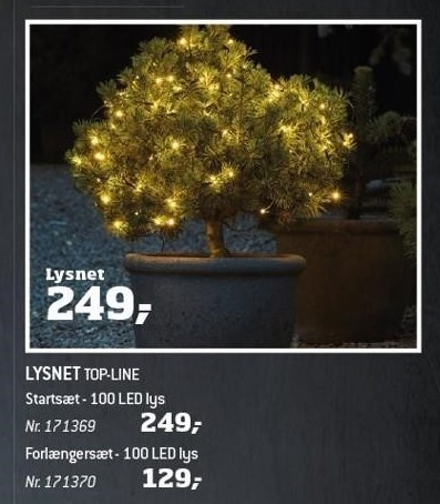 Lysnet top-line
