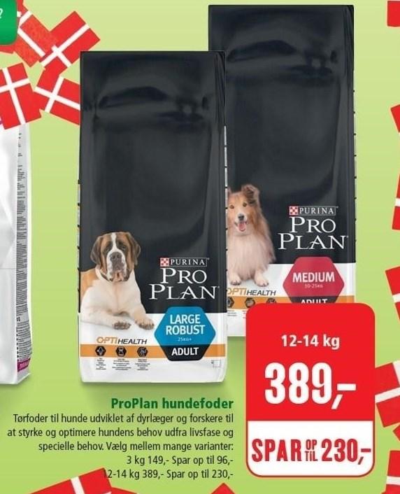 ProPlan hundefoder 12-14 kg.