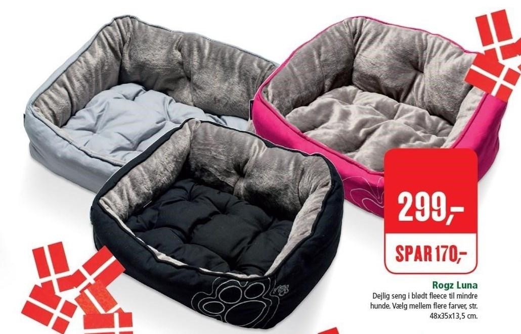 Rogz Luna seng til mindre hunde