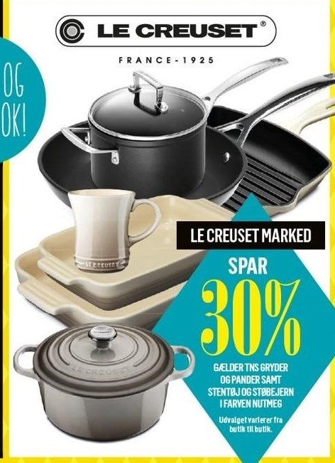 Le Creuset Marked