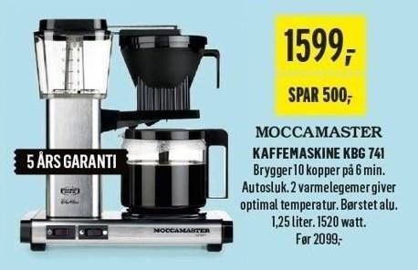 Kaffemaskine KBG 741