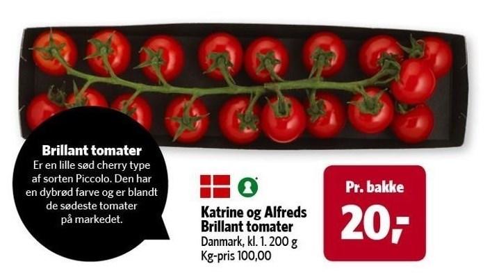 Katrine og Alfreds Brillant tomater