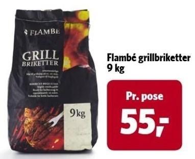 Flambé grillbriketter 9 kg