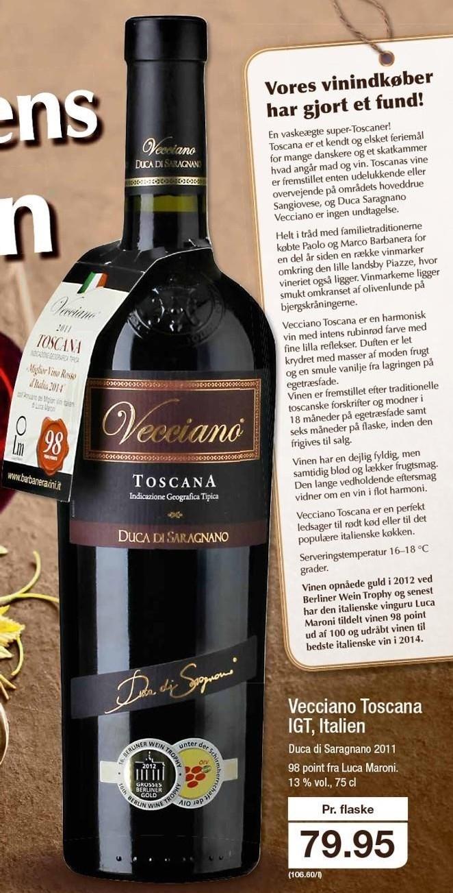 Vecciano Toscana IGT