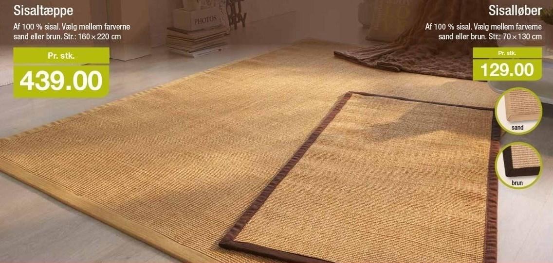 Sisalløber eller -tæppe