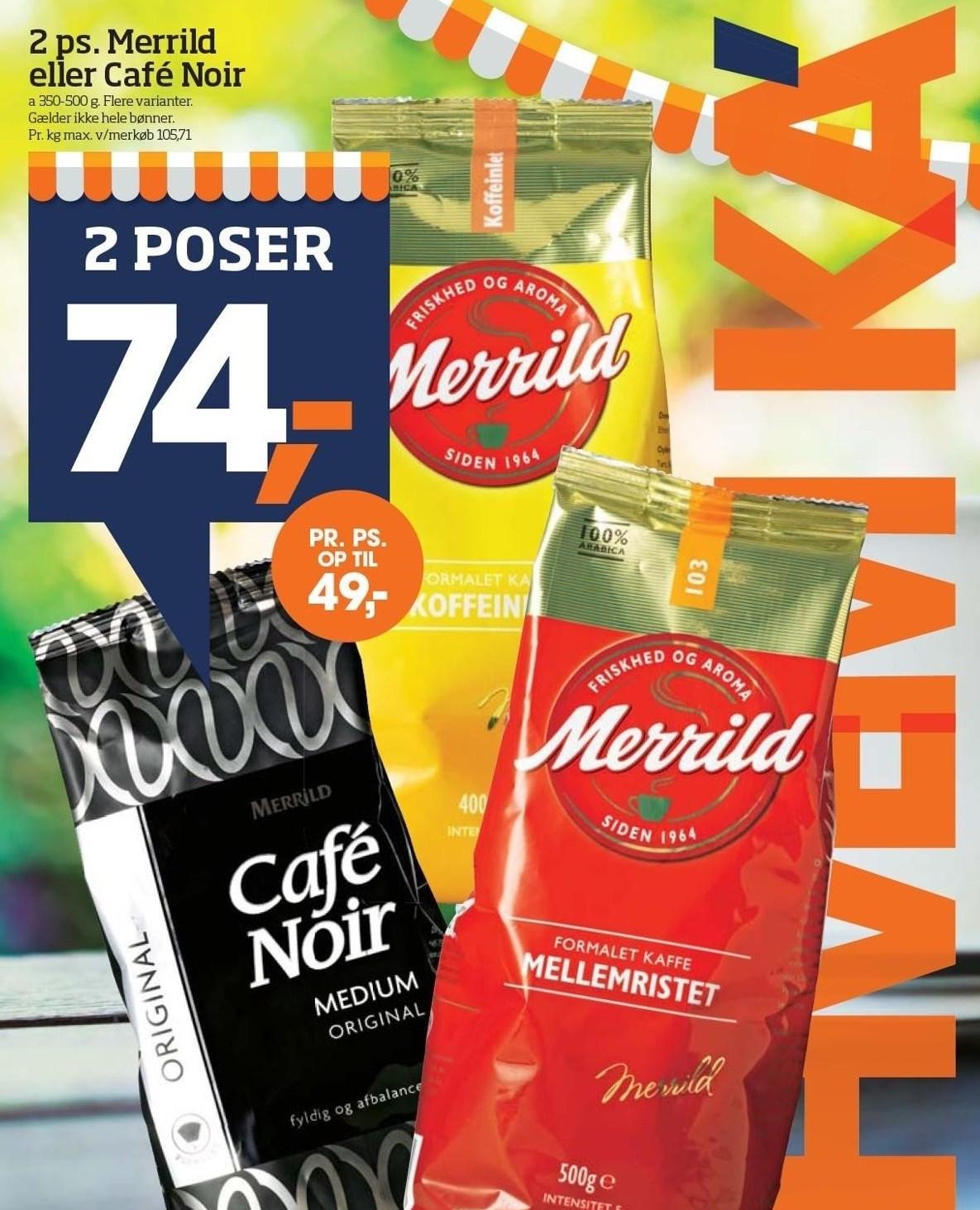 2 ps. Merrild eller Café Noir