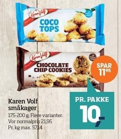 Karen Volf småkager