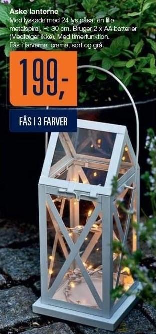 Aske lanterne
