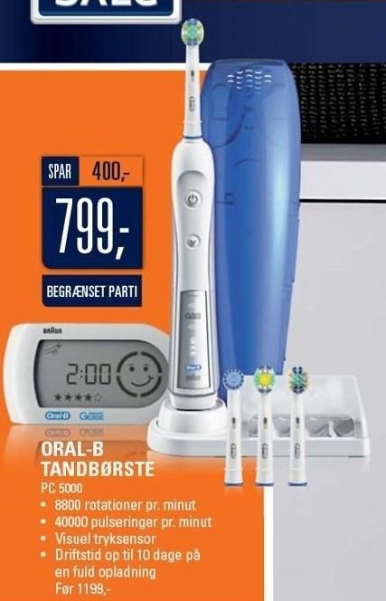 Oral-B tandbørste