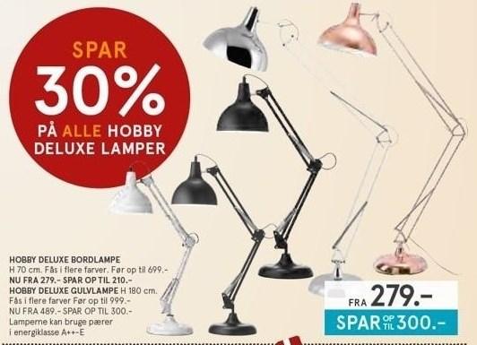 Hobby Deluxe lamper