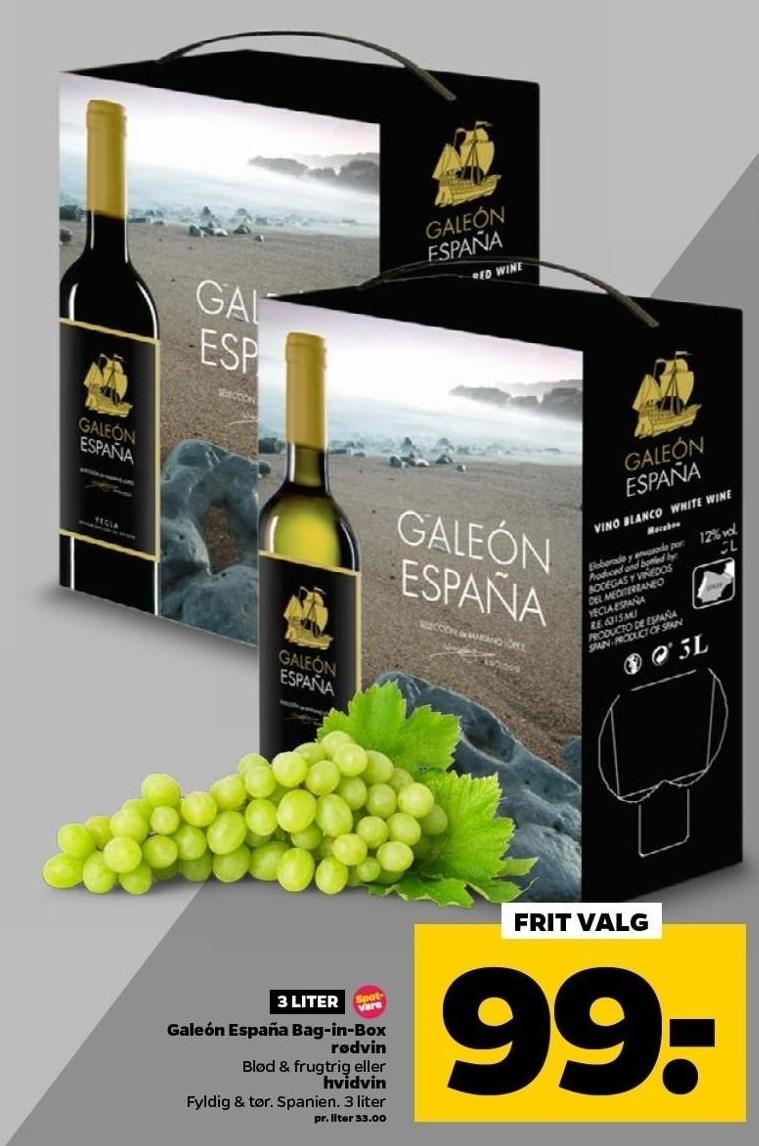 Galeón España Bag-in-Box 3 liter
