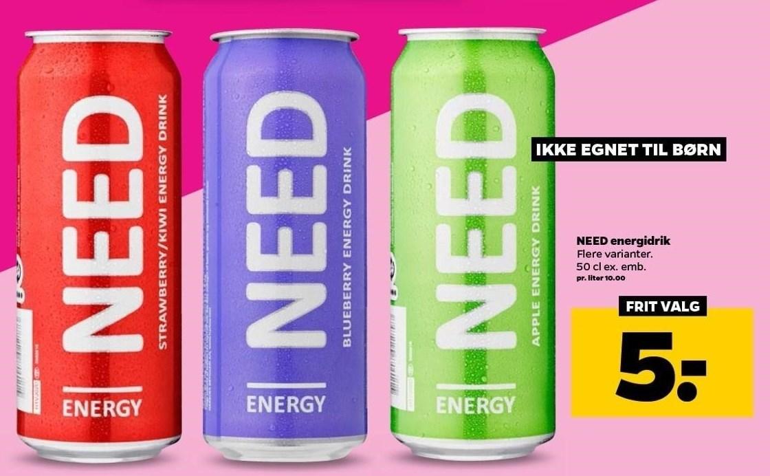 NEED energidrik