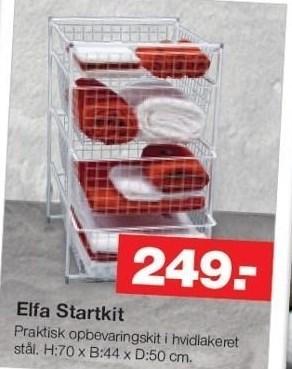 Elfa Startkit