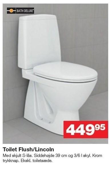 Toilet Flush/Lincoln
