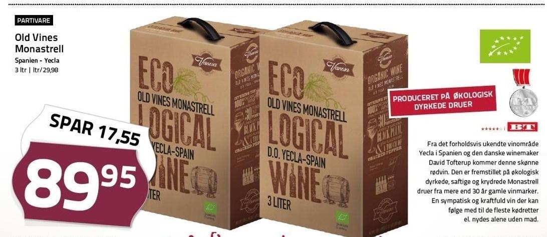 Old Vines Monastrell 300 cl