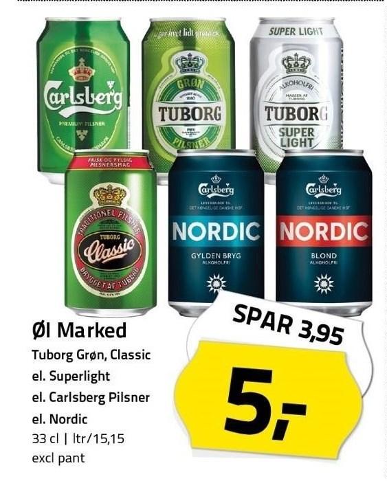 Øl marked