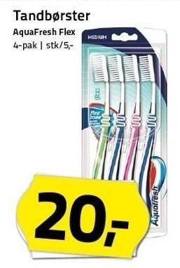 Tandbørster 4-pak