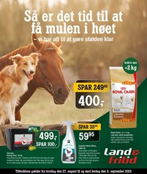 Land & Fritid: Gyldig t.o.m lør 5/9