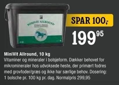 MiniVit Allround, 10 kg