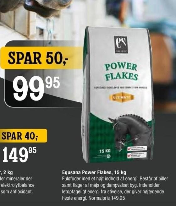 Equsana Power Flakes, 15 kg