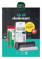 Bøger & papir: Gyldig t.o.m lør 22/8