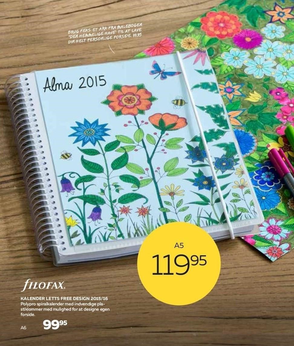 Kalender Letts free design 2015/16