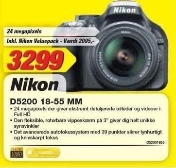 Nikon D5200 18-55 mm