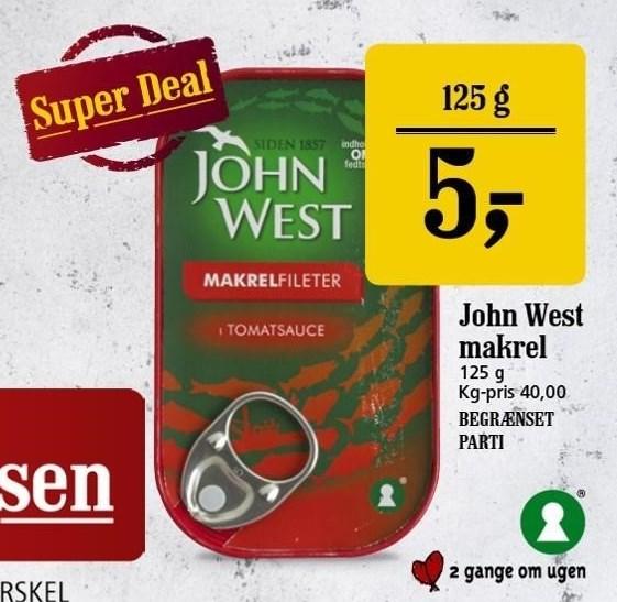 John West Makrel