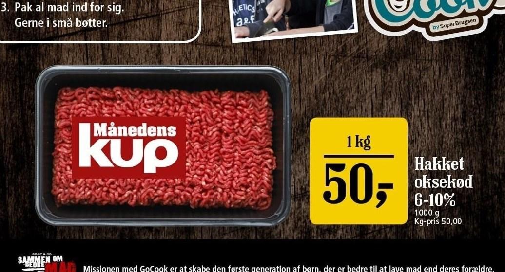 Hakket Oksekød 6-10%