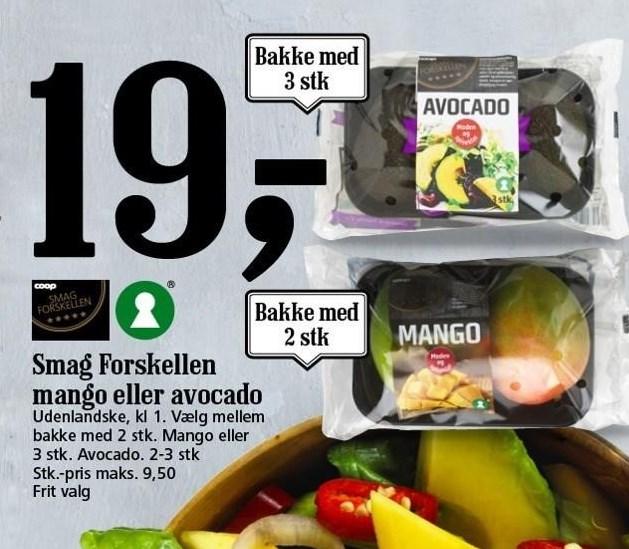 Smag Forskellen Mango