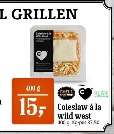 Coleslaw á la Wild West