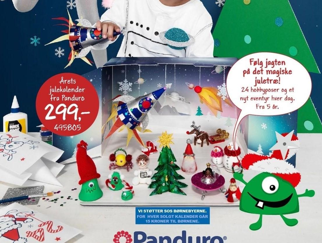 Årets julekalender fra Panduro
