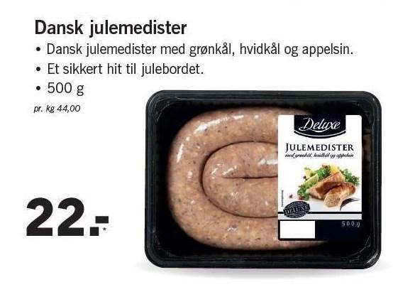 Dansk julemedister