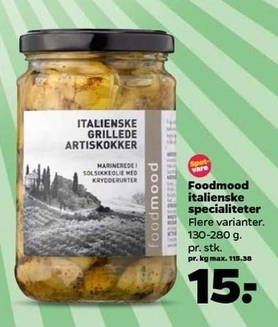 Foodmood italienske specialiteter