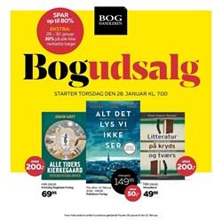 BOGhandleren: Gyldig t.o.m lør 13/2