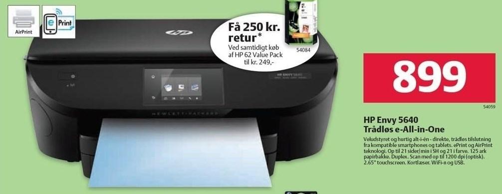 HP Envy 5640 Trådløs e-All-in-One