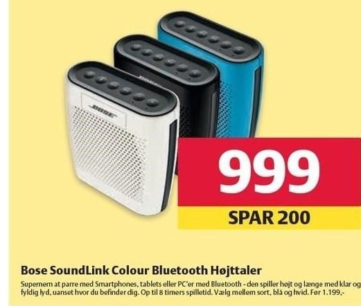 Bose Soundlink Colour Bluetooth Højttaler