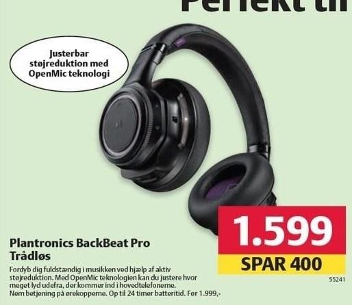 Plantronics Backbeat Pro Trådløs