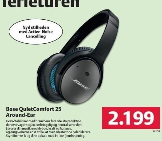 Bose QuietComfort 25 Around-Ear