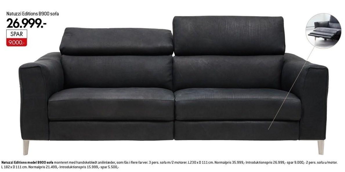 Natuzzi Editions B900 sofa